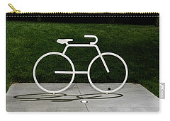 Carry-all Pouch featuring the photograph Bicycle by Randy Scherkenbach