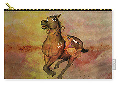 Carry-all Pouch featuring the painting Bid For Freedom by Valerie Anne Kelly