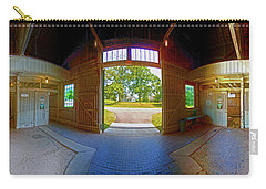 Carry-all Pouch featuring the photograph Big Barn Kentucky Horse Park 360 by Tom Jelen