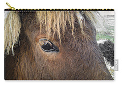 Carry-all Pouch featuring the photograph Big Eyes by Carl Young