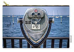 Carry-all Pouch featuring the photograph Binocular Viewer by Steve Stanger
