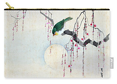 Bird And Moon Carry-all Pouch