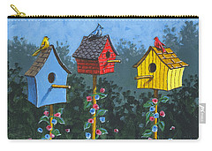 Bird House Lane Sketch Carry-all Pouch
