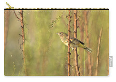 Bird On Branch Carry-all Pouch