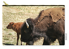 Bison In North Dakota Carry-all Pouch