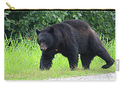 Black Bear Crossing Carry-all Pouch