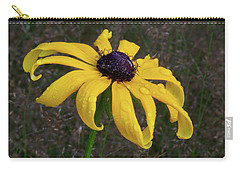 Carry-all Pouch featuring the photograph Black Eyed Susan by Dale Kincaid