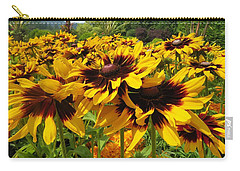 Black-eyed Susan In Your Face Carry-all Pouch