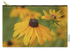 Carry-all Pouch featuring the photograph Black-eyed Susans by Dale Kincaid