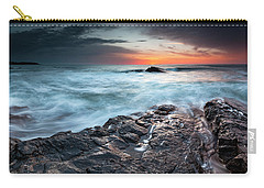 Black Sea Rocks Carry-all Pouch