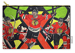 Blackhawks Authentic Fan Limited Edition Piece Carry-all Pouch