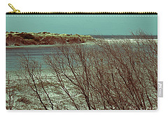 Carry-all Pouch featuring the photograph Blackwood Rivermouth, Augusta, Western Australia by Elaine Teague
