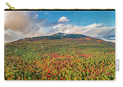 Carry-all Pouch featuring the photograph Blanketed In Color by Michael Hughes