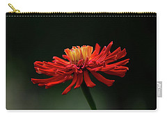 Carry-all Pouch featuring the photograph Blazing Red by Dale Kincaid