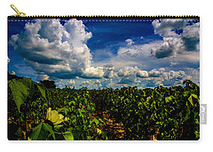 Blooming Cotton  Carry-all Pouch