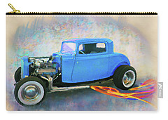 Blue 32 Ford Coupe Carry-all Pouch