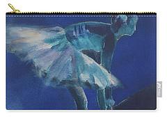 Blue Ballerina Carry-all Pouch