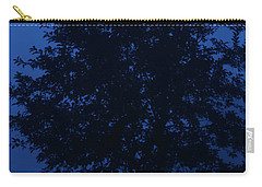 Blue Cherry Tree Carry-all Pouch