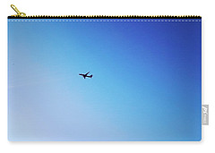 Carry-all Pouch featuring the photograph Blue Freedom by Lucia Sirna