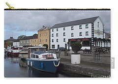Carry-all Pouch featuring the painting Richmond Harbour  In Cloondara, Co Longford by Val Byrne