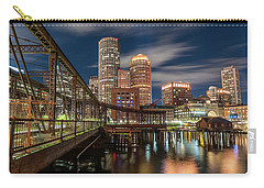 Blue Hour In Boston Harbor Carry-all Pouch