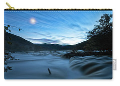 Carry-all Pouch featuring the photograph Blue Hour by Russell Pugh