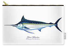 Blue Marlin Carry-all Pouch