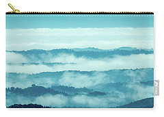 Blue Ridge Mountains Layers Upon Layers In Fog Carry-all Pouch