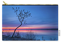 Blue Silence Carry-all Pouch
