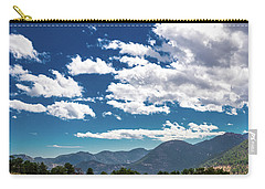 Blue Skies And Mountains II Carry-all Pouch