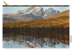 Carry-all Pouch featuring the photograph Blue Skye by Stephen Taylor