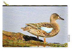 Blue-winged Teal Female Duck Carry-all Pouch