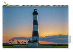 Carry-all Pouch featuring the photograph Bodie Island Lighthouse, Hatteras, Outer Bank by Cindy Lark Hartman
