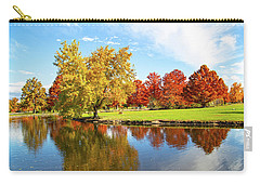 Carry-all Pouch featuring the photograph Boise Fall Foliage by Dart and Suze Humeston