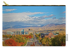 Carry-all Pouch featuring the photograph Boise In Fall by Dart and Suze Humeston