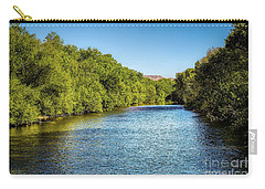 Carry-all Pouch featuring the photograph Boise River by Jon Burch Photography
