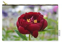 Bold Garnet Carry-all Pouch