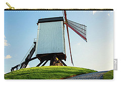 Bonne Chiere Windmill Bruges Belgium Carry-all Pouch