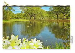 Botanical Gardens Pond Carry-all Pouch