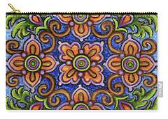 Botanical Mandala 1 Carry-all Pouch