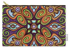 Botanical Mandala 11 Carry-all Pouch