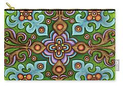 Botanical Mandala 4 Carry-all Pouch