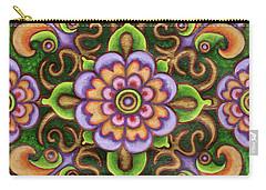 Botanical Mandala 5 Carry-all Pouch