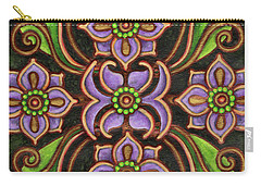Botanical Mandala 6 Carry-all Pouch