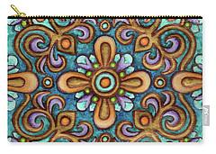 Botanical Mandala 7 Carry-all Pouch