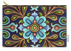 Botanical Mandala 9 Carry-all Pouch