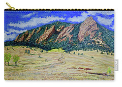 Flatirons Boulder Colorado Carry-all Pouch