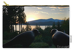 Bowen Island Crows Carry-all Pouch