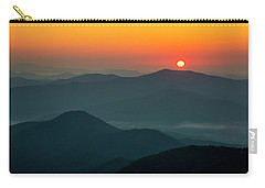 Carry-all Pouch featuring the photograph Brasstown Bald Sunrise by Andy Crawford