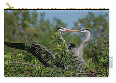 Breeding Herons Carry-all Pouch